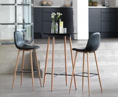 Barkrukken en bartafels koop jouw nieuwe barkruk op for Goedkope industriele eetkamerstoelen