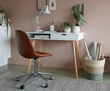 Bureau gerben zon steigerhout meubels