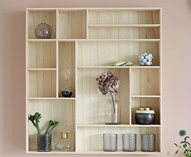 Bekend Wandplankjes en wandkasten | Decoreer je muur met wandplankjes van TT96