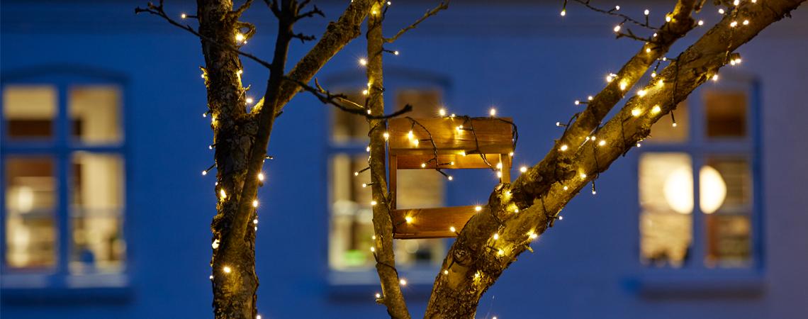 Veiligheidstips Voor Buitenverlichting Met Kerst Jysk