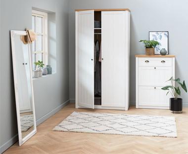 Kast 150 Hoog : Kledingkasten ruim assortiment goedkope jysk kledingkasten
