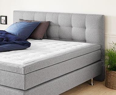 Ikea Tweepersoons Bedbank.Hoofdborden Een Hoofdbord Dat Past Bij Jouw Boxspring Jysk