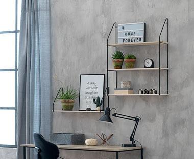 Plank Voor Lijstjes.Wandplankjes En Wandkasten Decoreer Je Muur Met