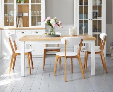 Nieuw Eetkamertafels   Trendy keukentafels en eettafels van JYSK BX-75