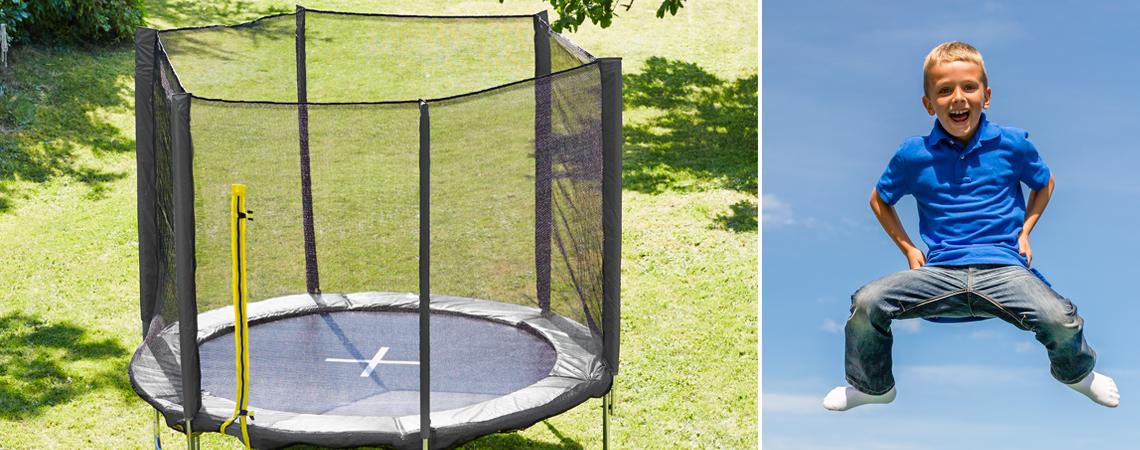 Topnotch Een training op de trampoline verbetert de motoriek van kinderen MX-05