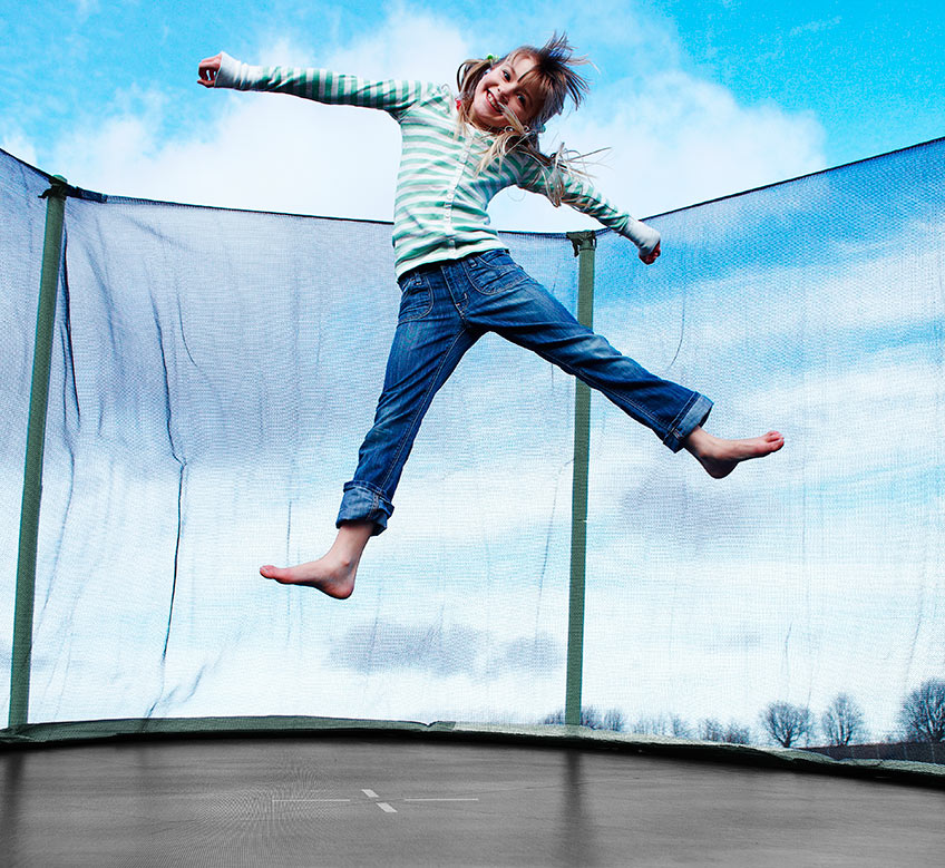 Ungdommelig 8 tips voor veilig trampolinespringen | JYSK TK-33